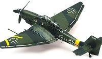 Бомбардировач - Junkers Ju 87G-2 Stuka - Сглобяем авиомодел - макет