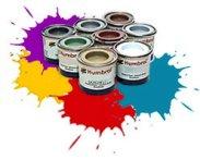 Акрилна боя - металик - Боичка за оцветяване на модели и макети - релса