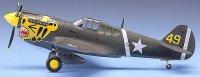 Военен самолет - P-40E Warhawk - Сглобяем авиомодел -