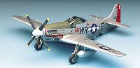 Военен самолет - P-51D Mustang - Сглобяем авиомодел - макет