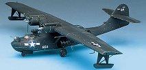 Военен самолет - PBY-5A Catalina Black Cat - Сглобяем авиомодел -