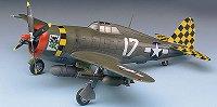 Изтребител - P-47D Thunderbolt Razor-Back - Сглобяем авиомодел -