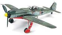 Военен самолет - Focke Wulf Fw190 D-9 JV44 - Сглобяем авиомодел - макет
