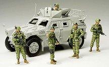 Войници от хуманитарната войска в Ирак - макет
