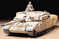Танк - British MBT Challenger - Сглобяем модел -