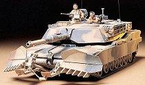 Танк за изравяне на мини - M1A1 Abrams -