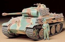 Танк - German Panther G Steel Wheel - макет