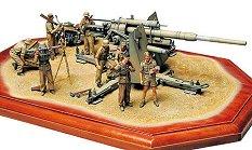 Зенитно и противотанково артилерийско оръдие - German 88 mm Gun Flak 36  - Сглобяем модел - макет