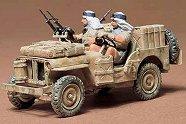 Военен джип на специалните британските въздушни сили - Сглобяем модел -