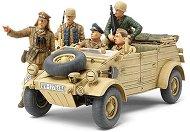 Военен джип - German Kubelwagen 82 Ramcke Parachute Brigade - Сглобяем модел - макет