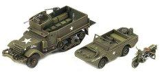 Военни превозни средства - макет