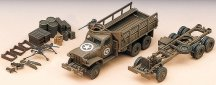 Военен камион с боеприпаси - Сглобяем модел - макет