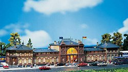 ЖП гара - Bonn station - Сглобяем модел -