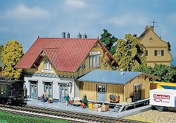 ЖП спирка - Blumenfeld wayside stop - макет