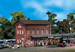 ЖП гара - Waldbrunn station - Сглобяем модел - макет