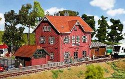 ЖП гара - Klingenberg station - Сглобяем модел -