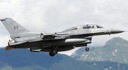 Военен самолет - F-16D Fighting Falcon - Сглобяем авиомодел - макет