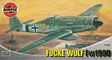 Военен самолет - Focke Wulf  Fw190D - Сглобяем авиомодел - макет