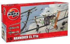 Военен самолет - Hannover CL.111a - Сглобяем авиомодел - макет