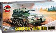 Танк - Scorpion Scout / Scimitar - Сглобяем модел -
