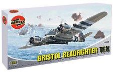 Военен самолет - Bristol Beaufighter TF.X - Сглобяем авиомодел -