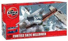 Военен самолет - Curtiss SB2C Helldiver - Сглобяем авиомодел - макет