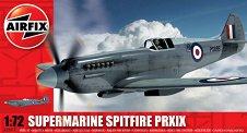 Военен самолет - Supermarine Spitfire PRXIX - Сглобяем авиомодел - макет