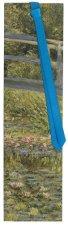 Разделител за книга - Лилии - Клод Моне (Claude Monet) -