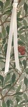 Разделител за книга - Дърво - Уилям Морис (William Morris) -