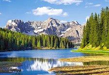Езерото Мисурина, Италия - пъзел