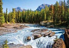 Река Атабаска, Национален парк Джаспър, Канада - пъзел