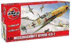 Военен самолет - Messerschmitt Bf 109 E-4 / E-7 - Сглобяем авиомодел - макет
