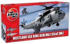 Военен хеликоптер - Westland Sea King AEW.Mk2 / ASaC.Mk7 - Сглобяем авиомодел -