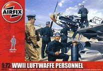 Войници от Военновъздушните сили на Германия - Комплект фигури - макет