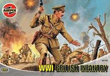 Британски пехотинци от Първата световна война - макет