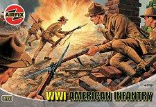 Американски пехотинци от Първата световна война - Комплект фигури -