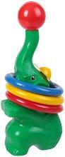 Слонче с рингове - играчка