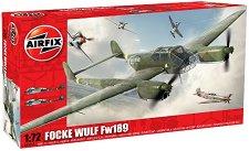 Военен самолет - Focke Wulf Fw189 - Сглобяем авиомодел - макет