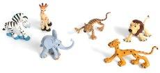 Животните от джунглата - Карикатури - Комплект фигури за игра - хартиен модел