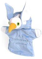 Пингвин - Плюшена играчка за куклен театър  -