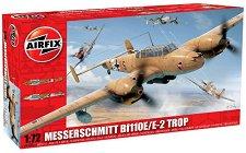 Военен самолет - Messerschmitt Bf110E/E-2 Trop - Сглобяем авиомодел -