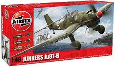 Бомбардировач - Junkers Ju 87-B - Сглобяем авиомодел -