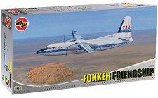 Самолет Fokker F-27 Friendship - Сглобяем авиомодел -