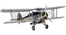 Военен самолет - Fairey Swordfish Mk I/III - Сглобяем авиомодел - макет