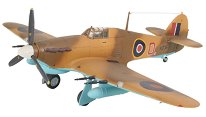 Изтребител - Hawker Hurricane Mk. IIC - Сглобяем авиомодел -