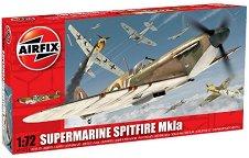 Военен самолет - Supermarine Spitfire MkIa - Сглобяем авиомодел - макет