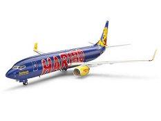 "Пътнически самолет - Боинг 737-800 TUIfly ""GoldbAIR"" - Сглобяем авиомодел -"