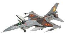 Военен изтребител - F-16A Fighting Falcon - Сглобяем авиомодел -