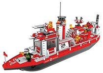Пожарникарска лодка - Детски конструктор -