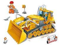 Булдозер - Детски конструктор - играчка